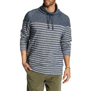 Tommy Bahama Mens Sweater French Terry Funnel Neck